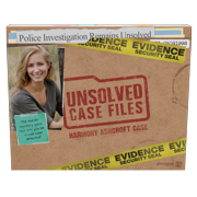 Pressman Unsolved Case Files: Harmony Ashcroft - Cold Case Murder Mystery Game for 1 or More Players