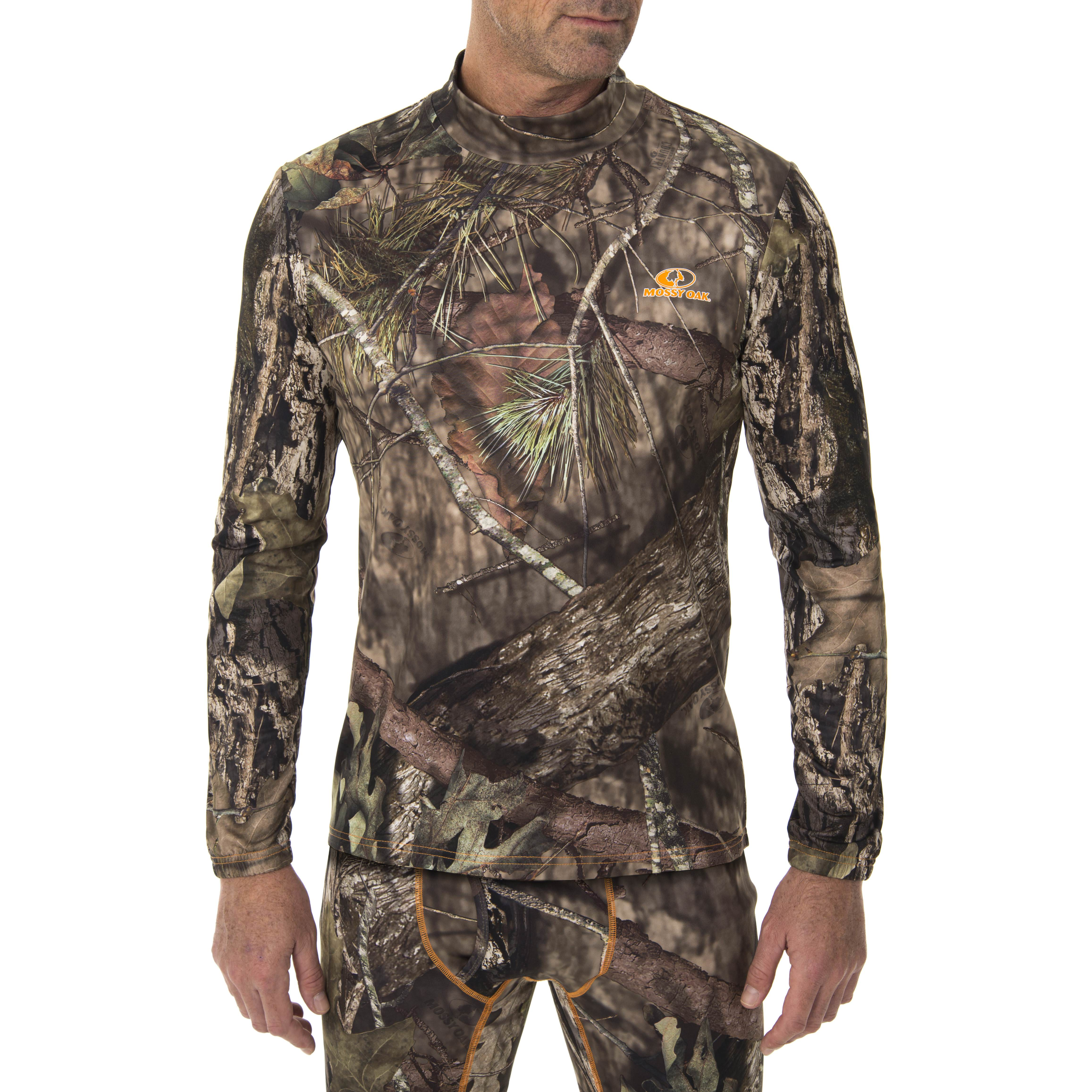 Mossy Oak Men's Ultimate Cold Gear Fitted Baselayer Top