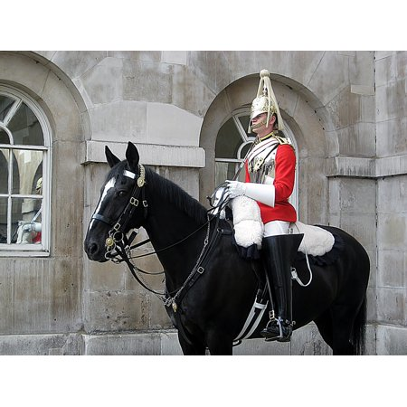 LAMINATED POSTER English London Horse Guard Poster Print 24 x 36 - English Gaurd