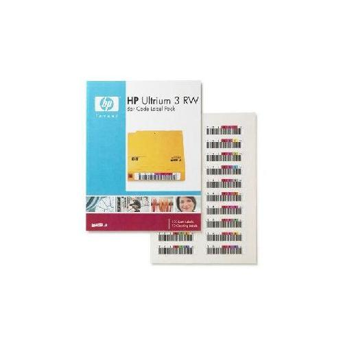 HP LTO-3 RW Bar Code Label Pack Tape Cartridge - Q2007A 2G06274