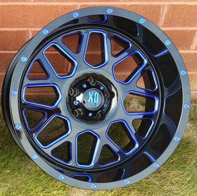 KMC-XD Wheels XD82029050900BC XDWXD82029050900BC GRENADE 20X9 5X5.00 BLACK (0 MM)