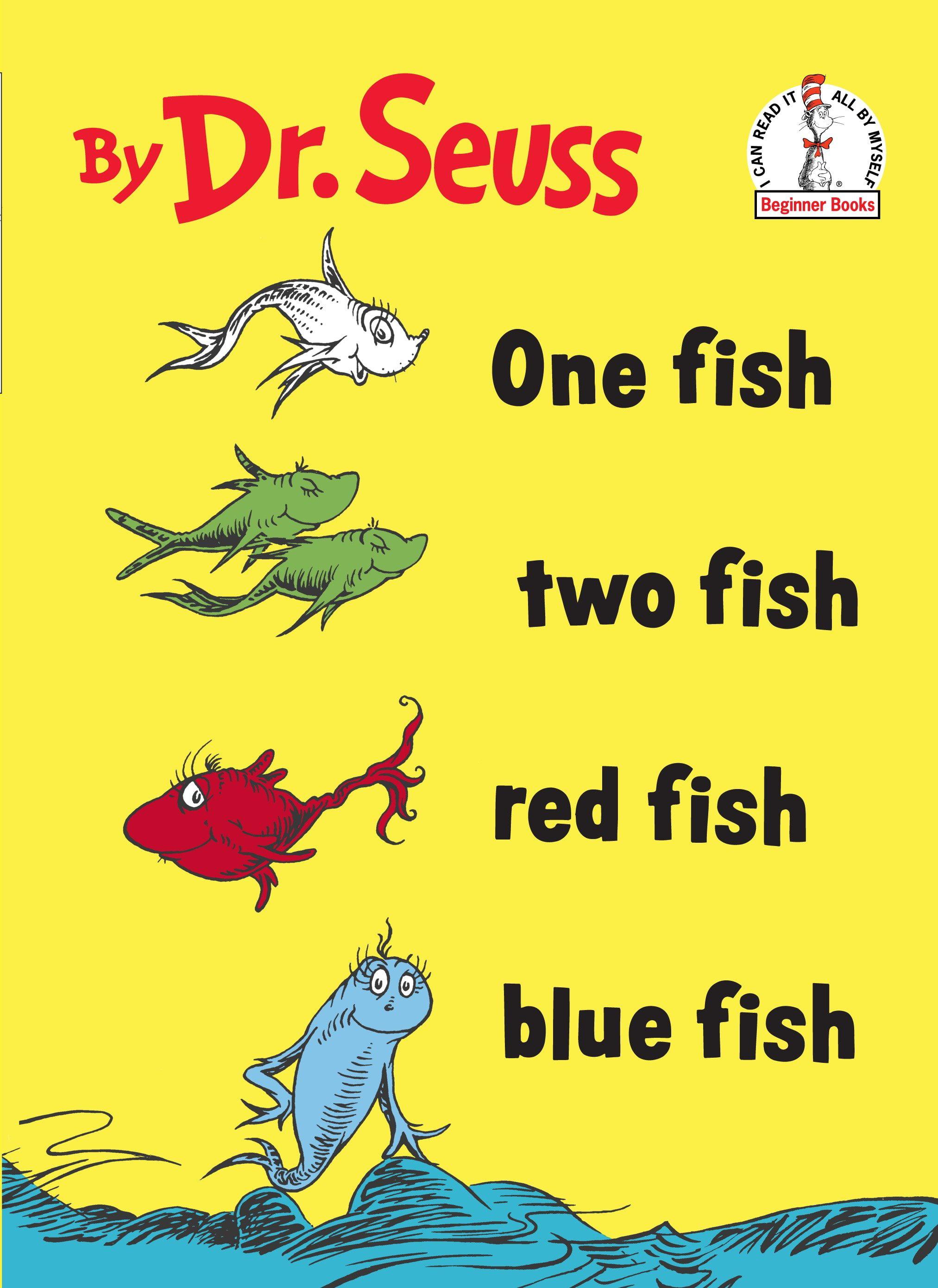 One Fish Two Fish Red Fish Blue Fish - Walmart.com