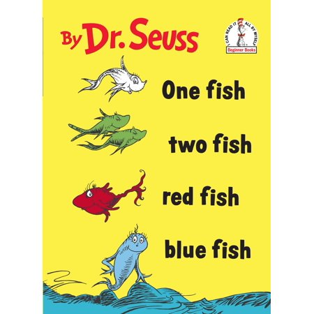 One Fish Two Fish Red Fish Blue Fish (Hardcover) (World War Ii Dr Seuss Political Cartoons)