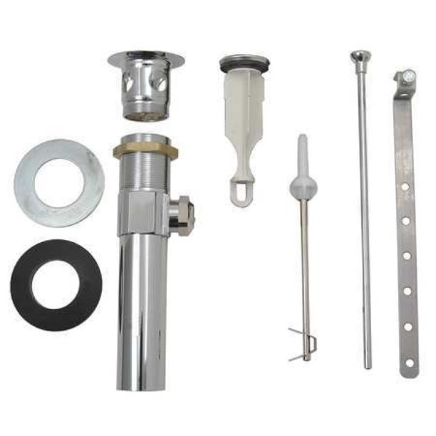 Delta Metal Pop Up Drain Assembly For, Bathroom Sink Drain Parts
