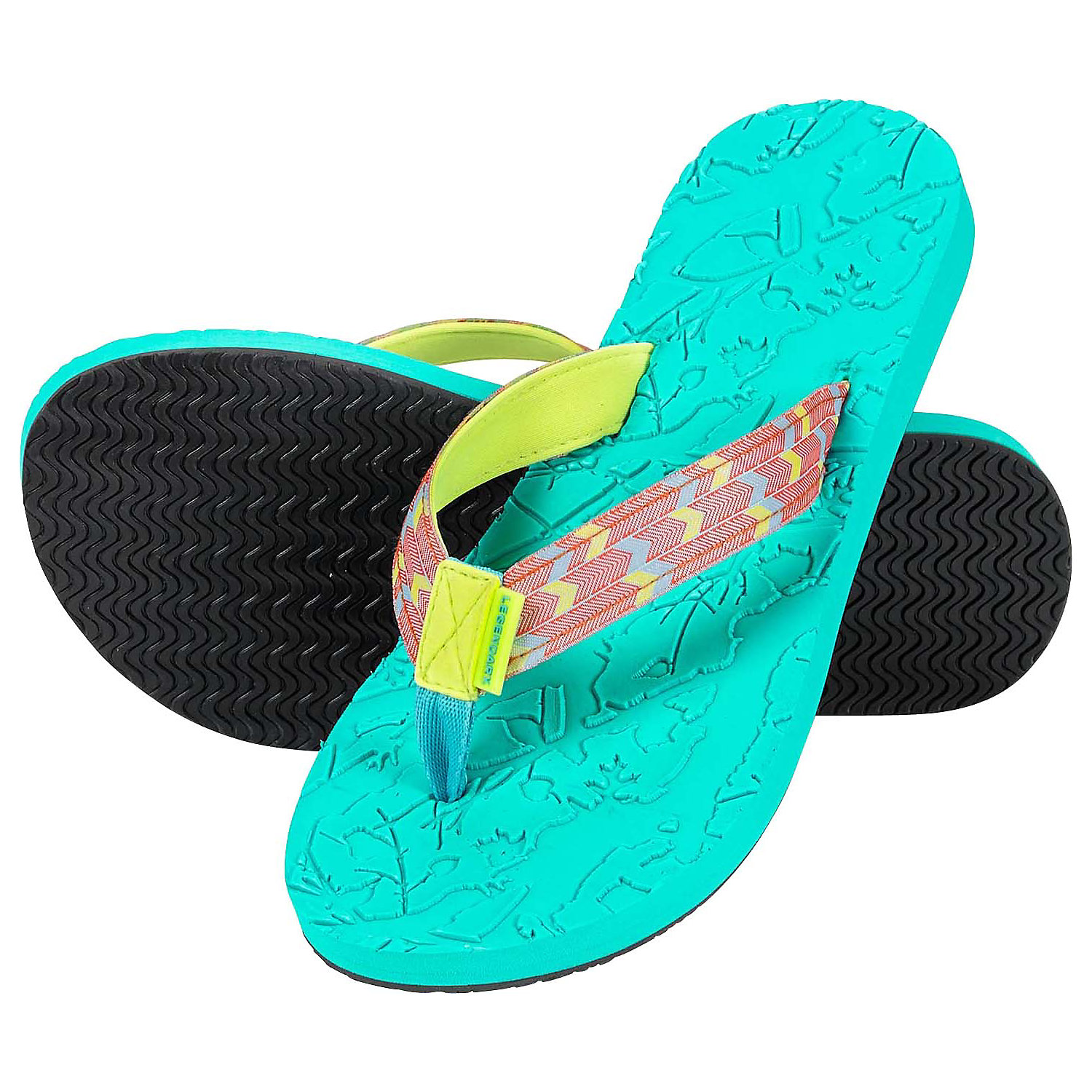 Legendary Whitetails Ladies Seaside Flip Flops