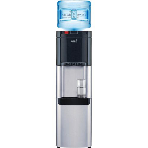 Primo Top Load Water Cooler, Stainless Steel and Black, Energy Star Rated