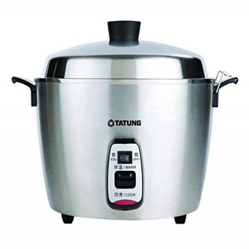 Tatung 11 Cups Multi-Functional Stainless Steel Rice Cook...