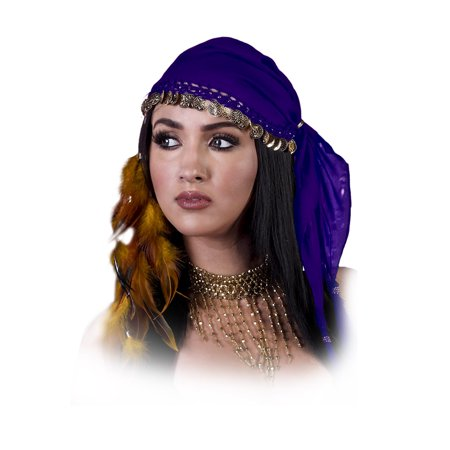 Adult Gypsy Belly Dancer Headpiece