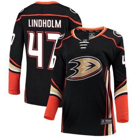 Anaheim Ducks Jersey - Hampus Lindholm Anaheim Ducks Fanatics Branded Women's Breakaway Jersey - Black