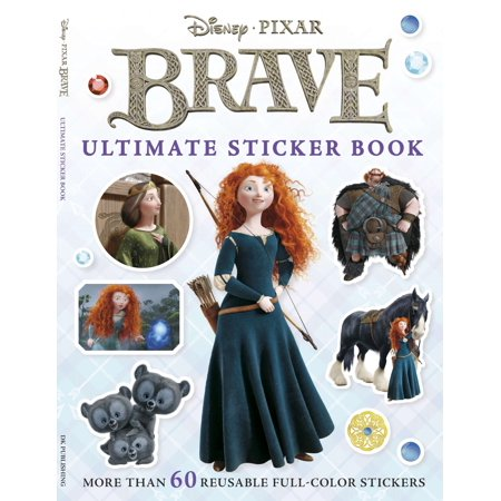 Ultimate Sticker Book: Brave : More Than 60 Reusable Full-Color Stickers
