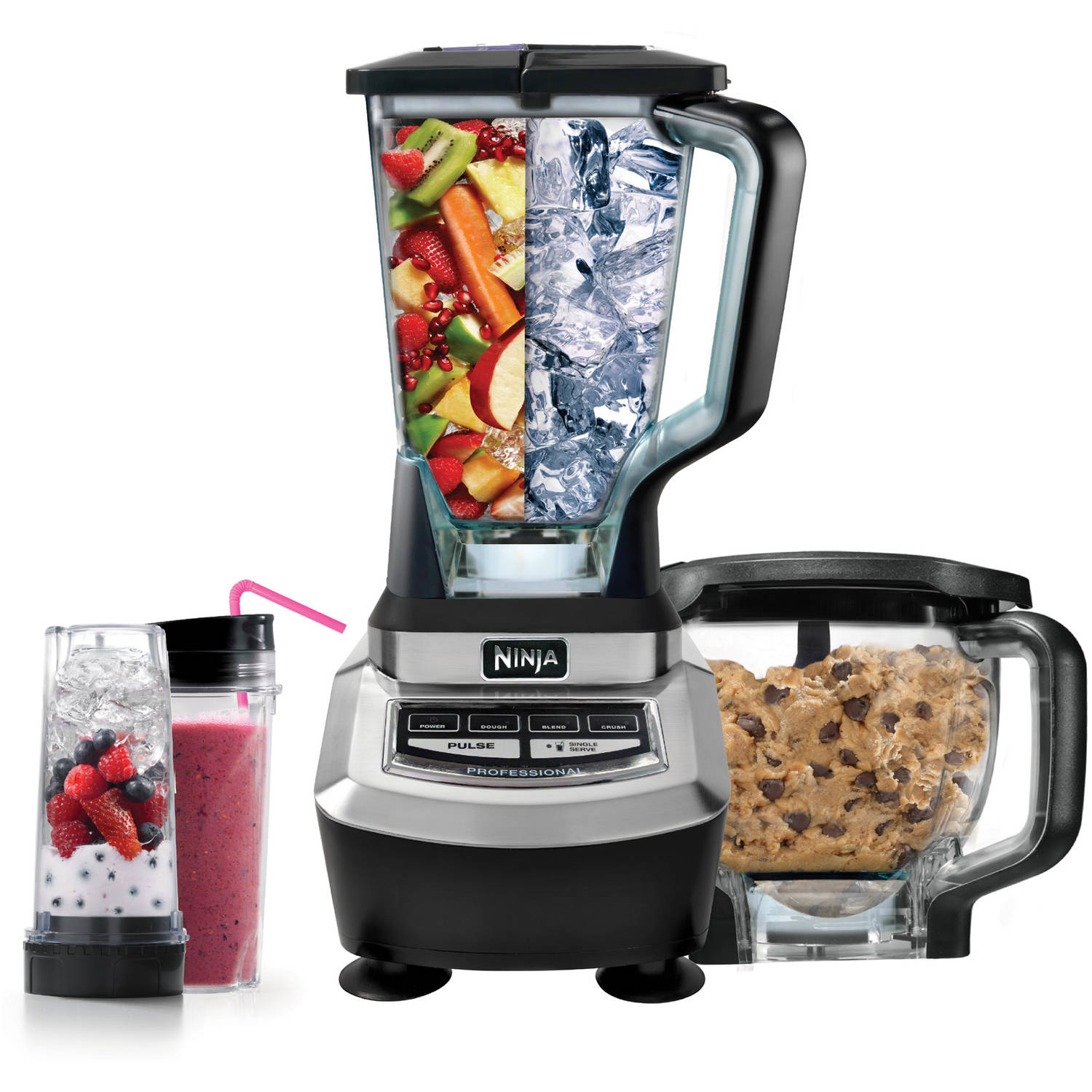 ninja supra kitchen blender system with food processor and single