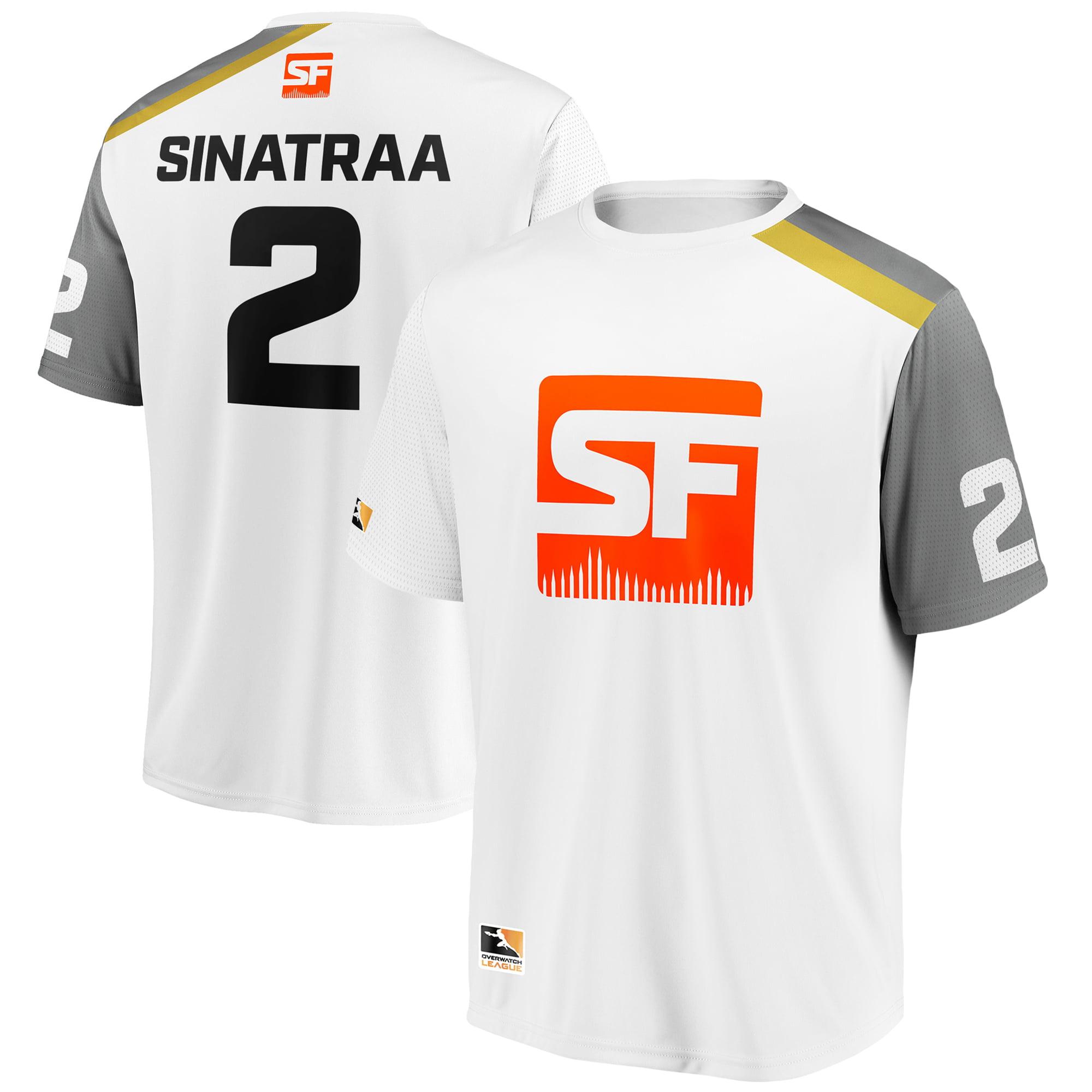 sinatraa San Francisco Shock Overwatch League Replica Away Jersey - White