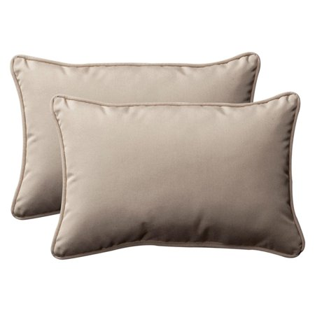 Outdoor Throw Pillows For Patio Furniture : Pack of 2 Outdoor Patio Furniture Rectangular Throw Pillows 24.5