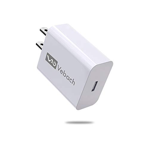 Usb C Charger Vebach 18w Fast Power Delivery Adapter Ultra Compact