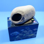 STONE Ceramic Aquarium Ornament M - CICHLID Rock Cave decor bonsai hide Spawning
