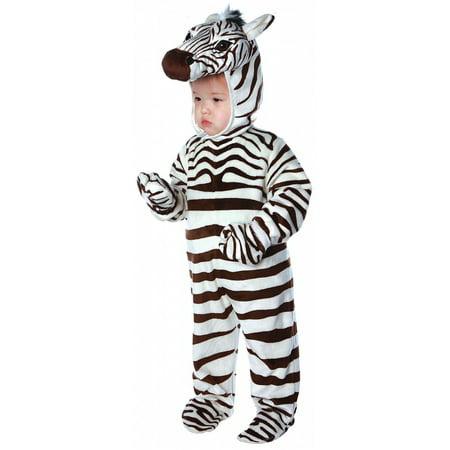 Zebra Toddler Costume - Small