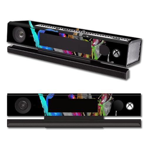 Mightyskins Protective Vinyl Skin Decal Cover for Microsoft Xbox One Kinect wrap sticker skins Color Splash
