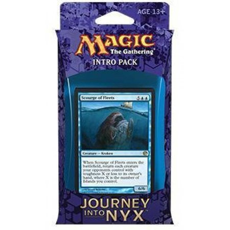 (MTG) Journey Into Nyx Intro Pack / Theme Deck - Fates Foreseen - Blue (Includes 2 Booster Packs), Intro Pack / Theme Deck - Fates Foreseen -.., By Magic the Gathering