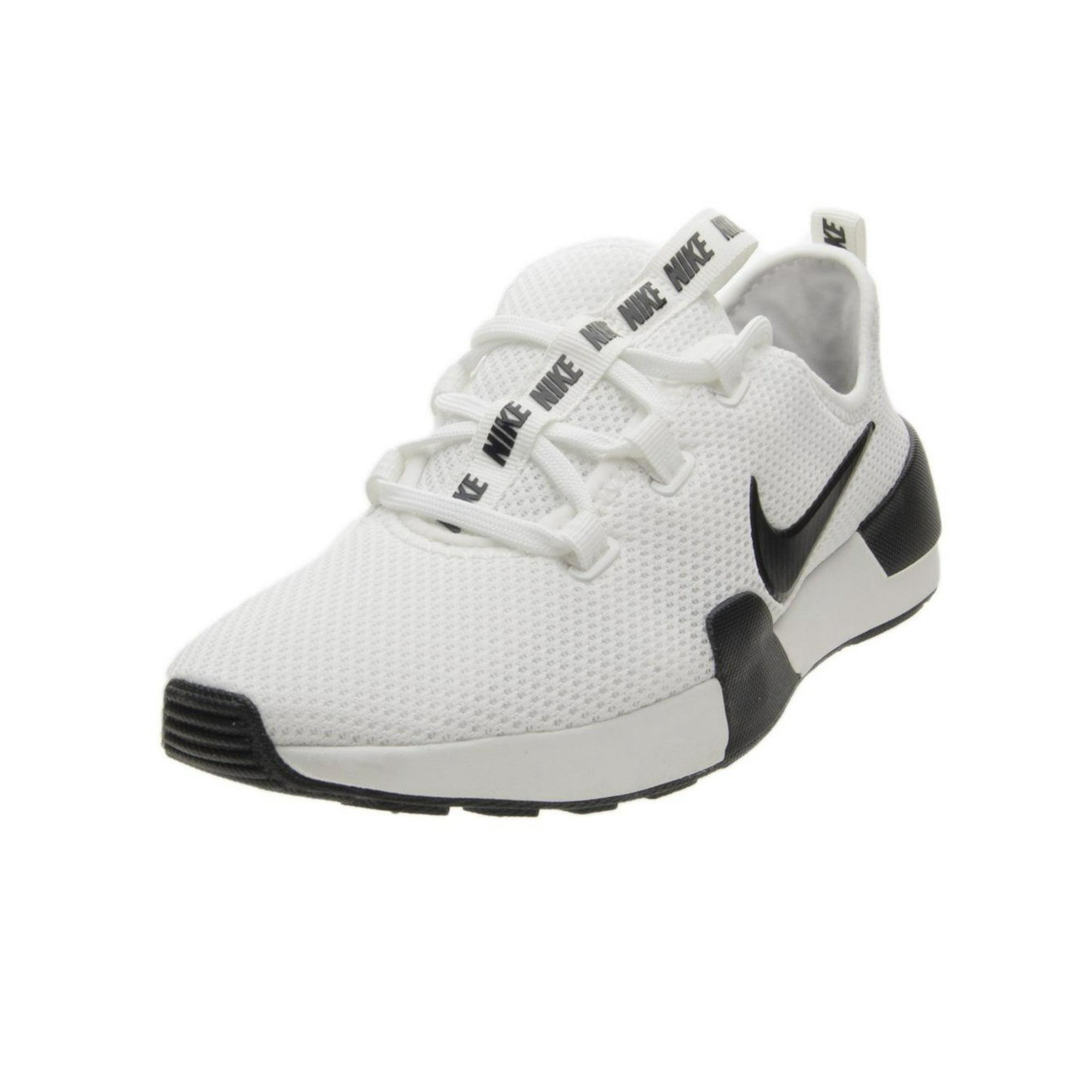 Nike Women's Ashin Modern Summit White Black Low Top Mesh