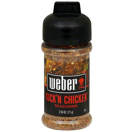 Weber Kick'n Chicken Seasoning, 2.5 oz (Pack of 6)