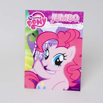 Coloring Book My Little Pony 96 Pages In 24pc Display Box Case Pack
