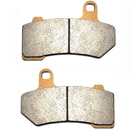 2008-2017 Harley Electra Glide Ultra Classic Sintered HH Rear Brake Pads - Harley Abs Brakes