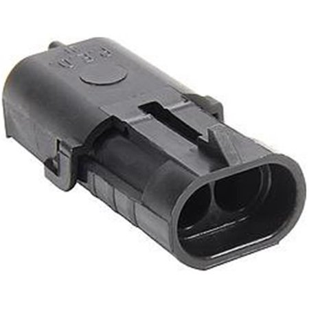 Allstar Performance ALL76291 2 Pin Weather Pack Shroud Housing - image 1 of 1