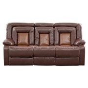 Roundhill Furniture Kmax Leather Sofa