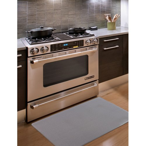 Home Fashion Designs Kingston Solid Anti Fatigue Kitchen Mat