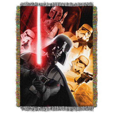 Star Wars The Empire  Woven Tapestry Throw Blanket -