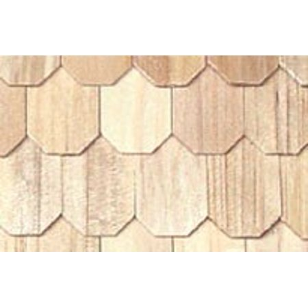 Dollhouse Tapered Wood Shingles