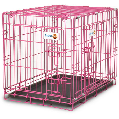 Doskocil Pink Puppy Crate