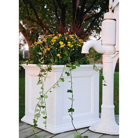 Fairfield Patio Planter 20x20 White - Fruit Platter Ideas For Halloween