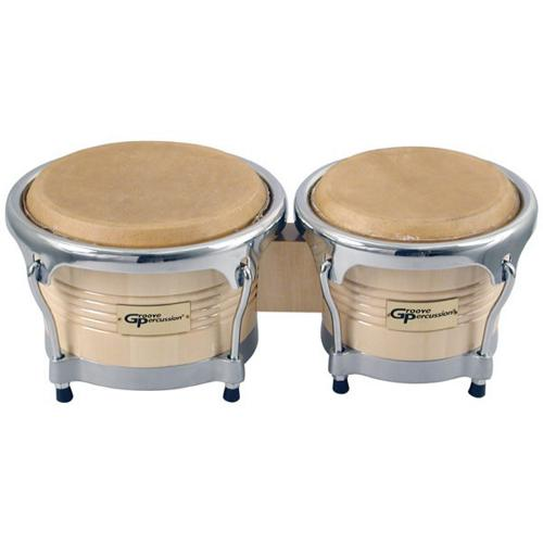 Click here to buy Groove Percussion BG7585 Pro Bongos.