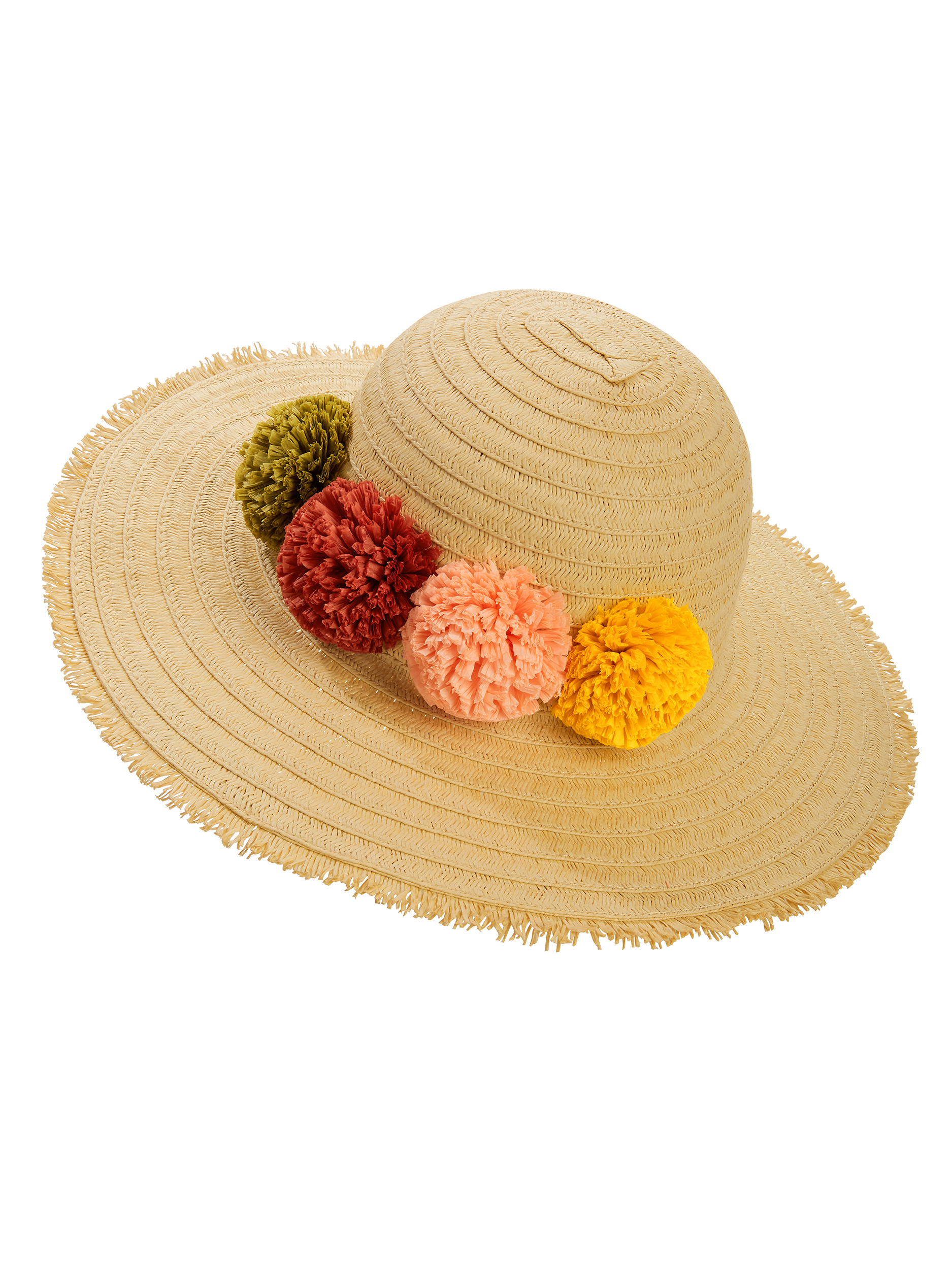 Time and Tru Flowers Floppy Hat