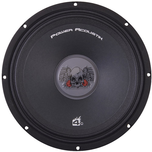 Power Acoustik PRO.654 Pro Mid Range Speaker  (One Speaker)