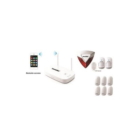 App Wireless Home Security Alarm w/8