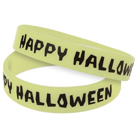 Halloween Teachers Resources (Happy Halloween Glow-in-the-Dark Wristbands 10)