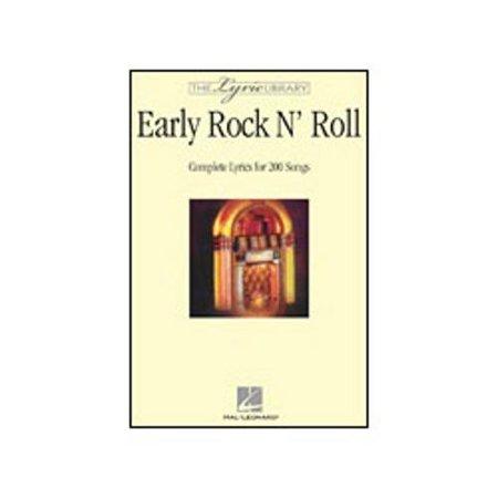 Hal Leonard Early Rock 'n' Roll Lyric Library Series