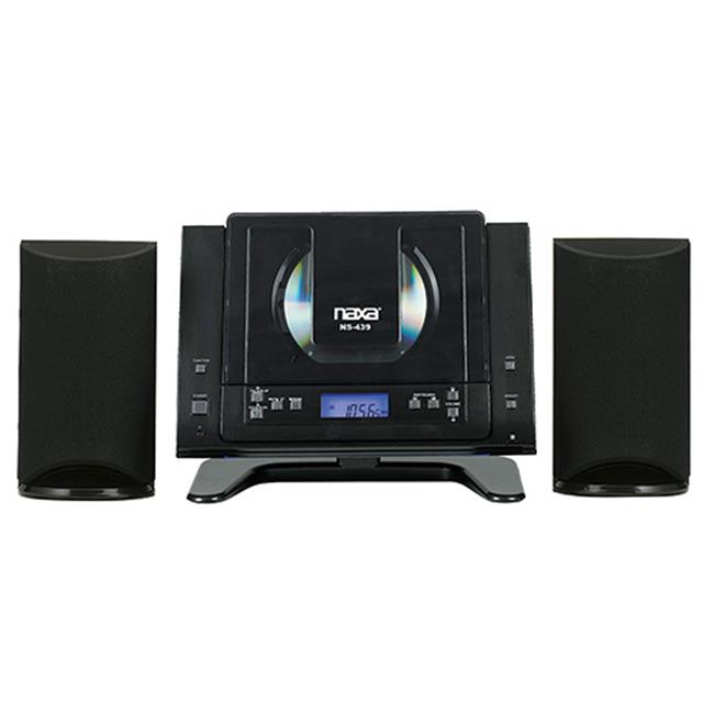 NAXA NS-439 Digital CD Microsystem with Bluetooth