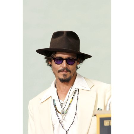 Johnny Depp At The Press Conference For Handprint & Footprint Ceremony For Johnny Depp GraumanS Chinese Theatre Los Angeles Ca September 16 2005 Photo By Michael GermanaEverett Collection Celebrity - Halloween Handprint Footprint Crafts