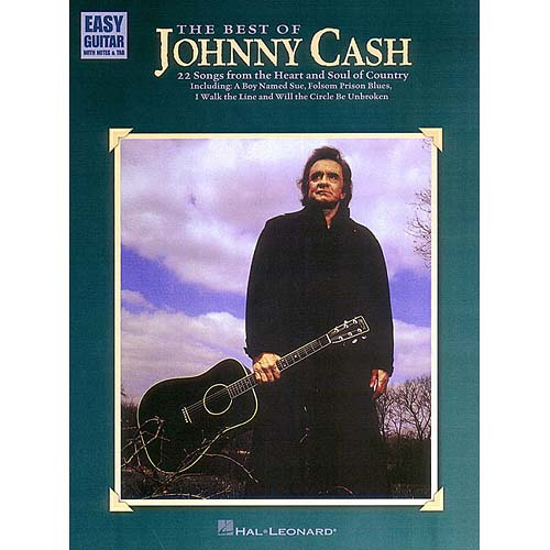 The Best of Johnny Cash: Easy Guitar With Notes & Tab