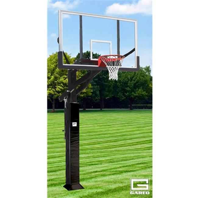 Gared Sports GP12P72DM 42 x 72 in. 2000 Plus Goal Polycarbonate Super Pro Jam Basketball System Backboard