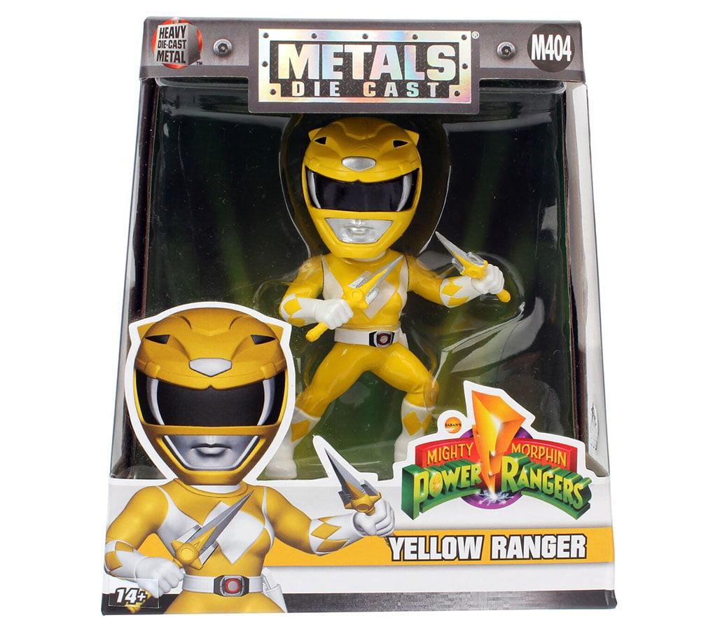 "4"" METALS Power Rangers: Yellow Ranger (M404) by Jada Toys, Inc."