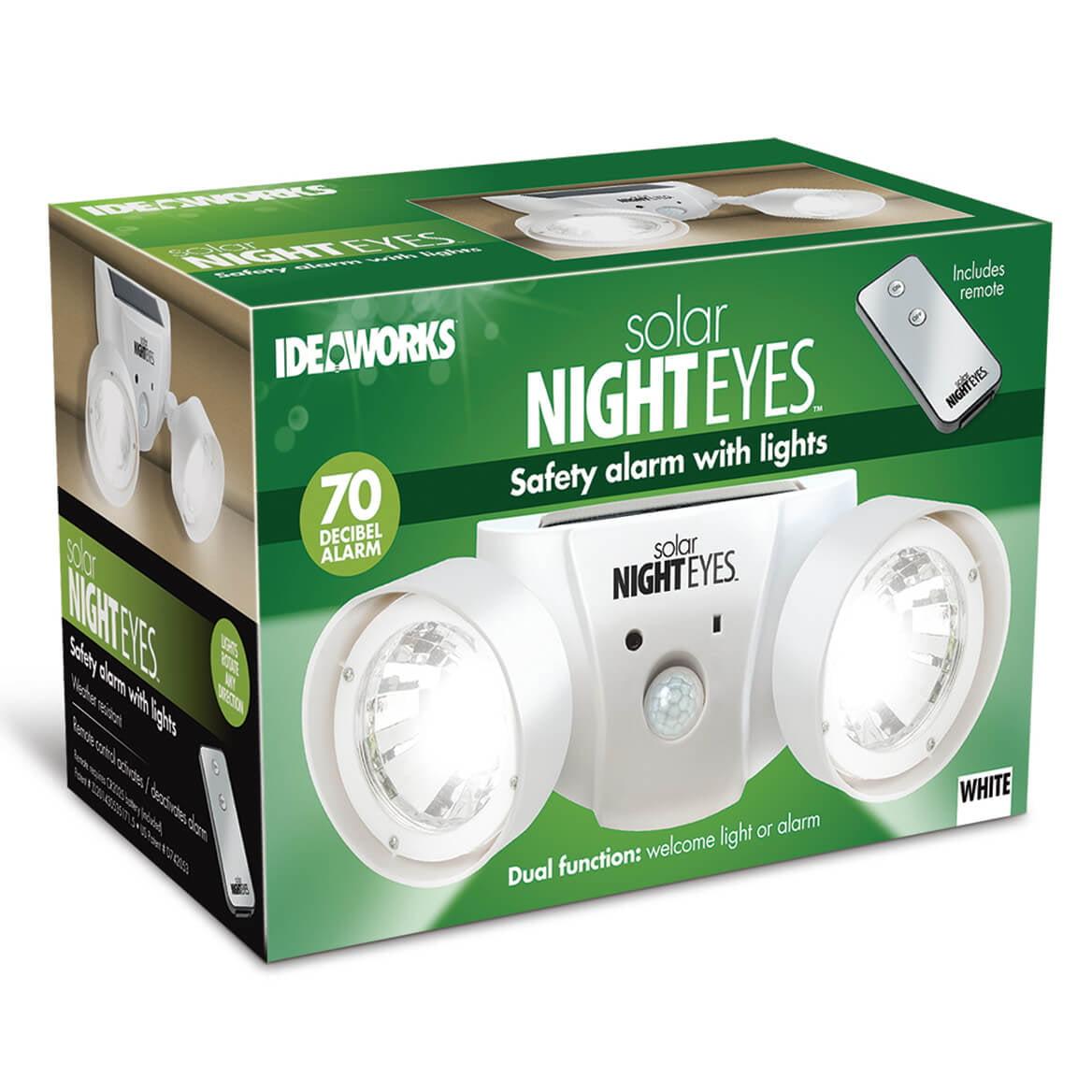 Solar Night Eyes with Alarm