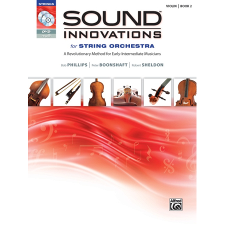 Alfred Sound Innovations for String Orchestra Book 2 Violin Book -