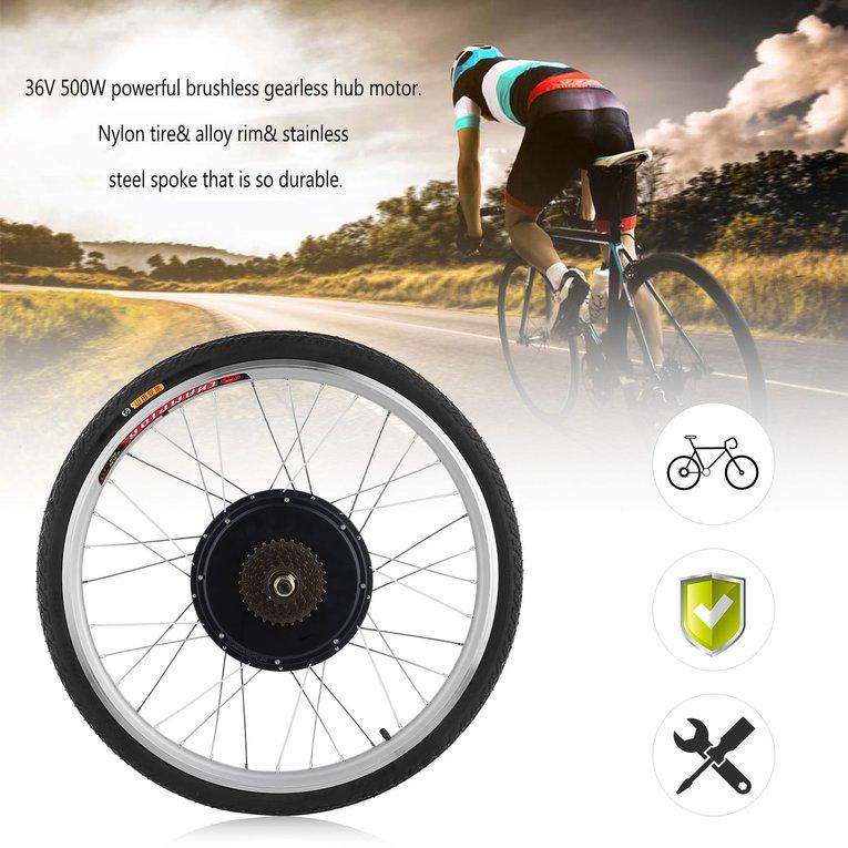 36V 500W Powerful 26 Inch Electric Bicycle E-Bike Motor C...