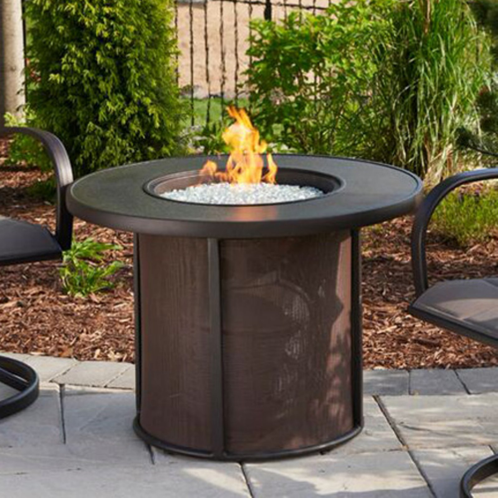 Outdoor Greatroom Stonefire 32 in. Round Firepit Table by Outdoor GreatRoom Company LLLP