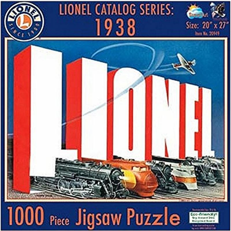 Lionel Catalog Series: 1938 1000 pc Jigsaw Puzzle