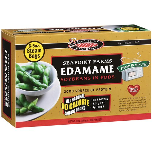 Seapoint Farms Boxed Edamame Pod Snack Packs